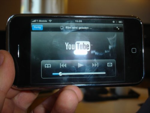 Youtube fat fingers on the iPhone